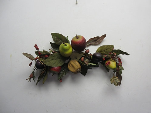 Small artificial fruit arch wall hanging