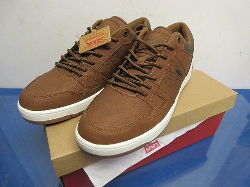 Levi Strauss brown tennis shoes, size 10.5-New