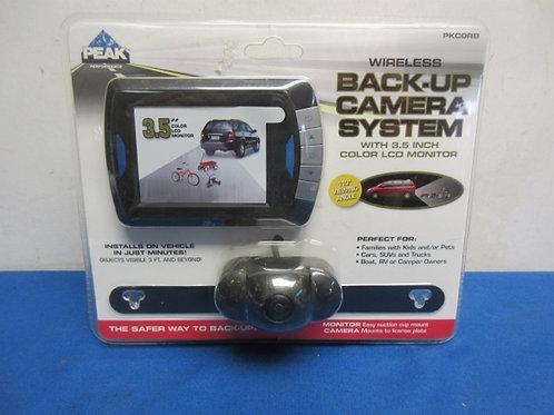 Peak Performance wireless back up camera system, sealed, new in pkg
