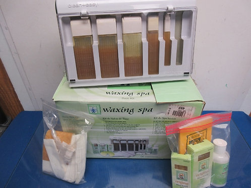 Clean and Easy waxing spa basic kit, used