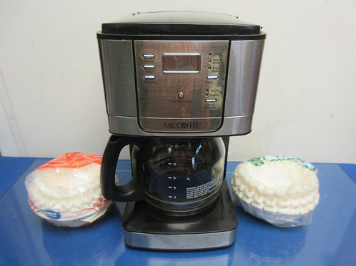 Mr. Coffee 12 cup coffee maker with extra filters