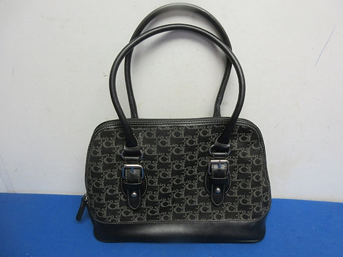 Carryland black and gray purse