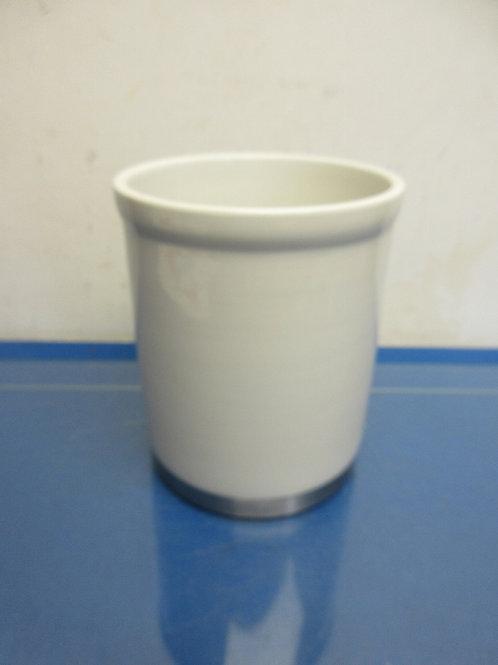 Oggi stainless bottom ceramic utensil holder