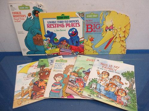 Set of 8 children's books, Sesame Street, books by Gina & Mercer Mayer & more...