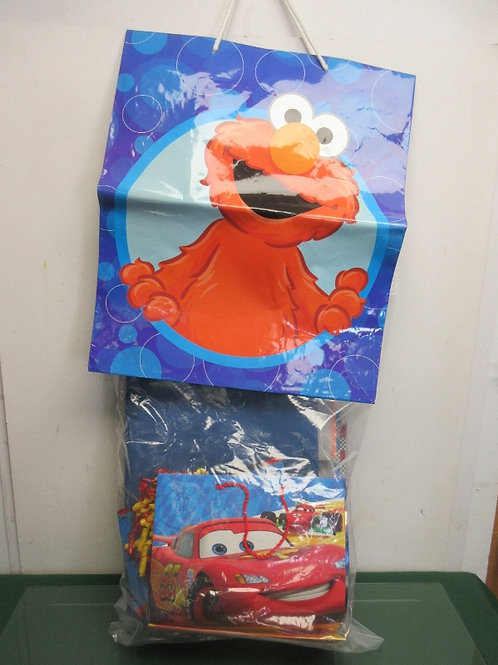 Set of 8 assorted size children's gift bags