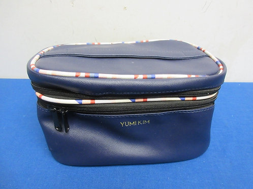Navy blue Yumi Kim cosmetic bag