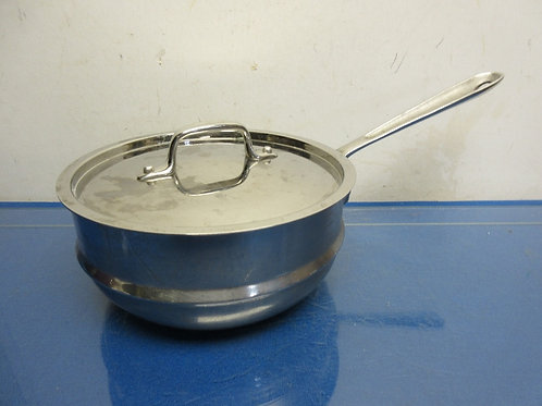 All-Clad stainless steel steamer insert with lid