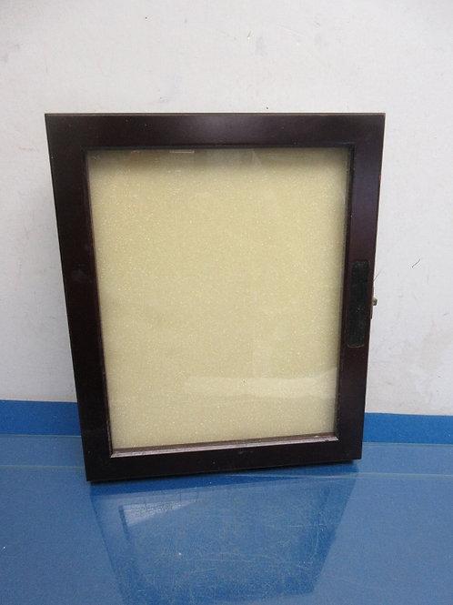 Shadow box style 8x10 black frame