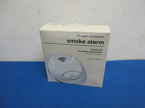Ten year ionization smoke alarm - new