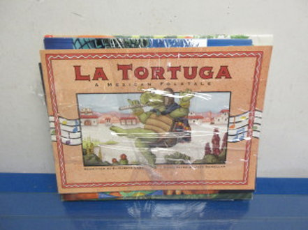 Set of 7 assorted story books, LaTortuga, The Three Wishes and more…