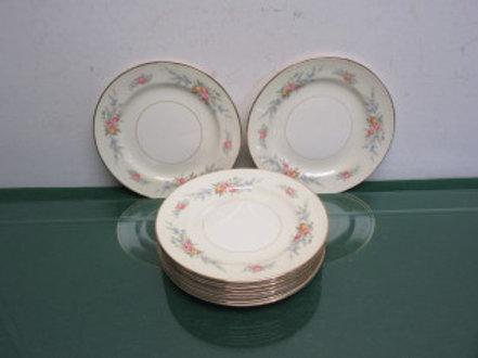 Homer Laughlin Georgian Eggshell a51n5-10 sandwich plates