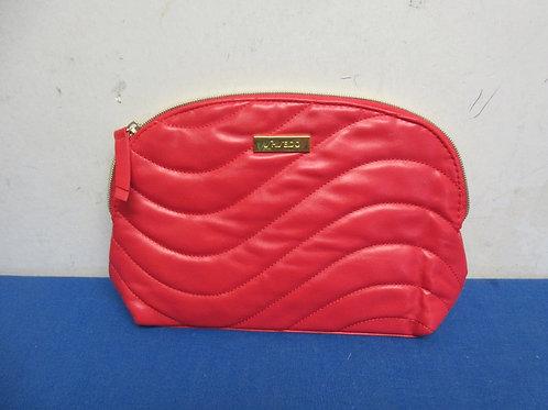 Shiseido Red cosmetic bag