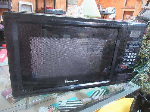 "Magic chef black microwave oven, 14x20x12"" high"