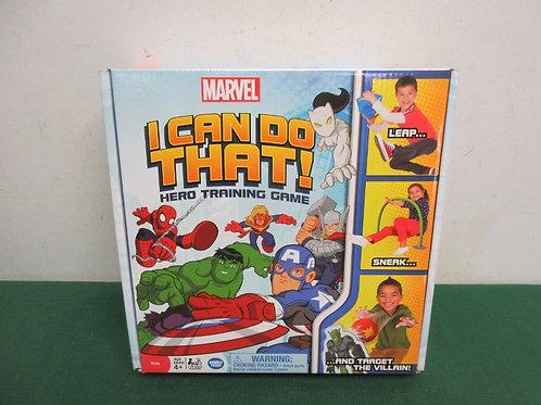 Marvel I can do that, hero trining game, new in pkg