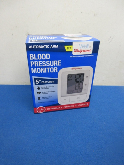 Walgreens electronic arm blood pressure monitor