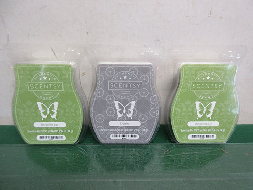 Set of 3 Scentsy scented wax packs, New
