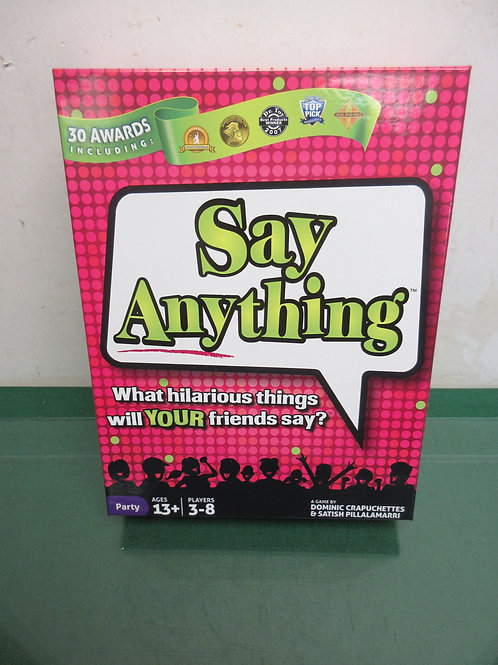 Say Anything Game, what hilarious things will your friends say, ages 13&up
