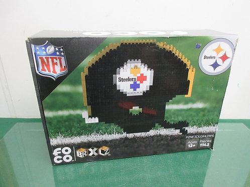 NFL foco Pittsburgh Steelers helmet block set, ages 12+- 1143 pcs, Brand New