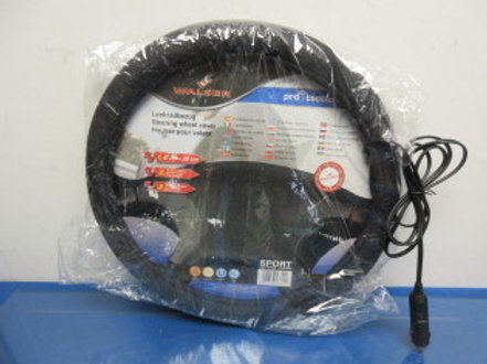 "Walser heated steering wheel cover, fits 15 to 15.5"" steering wheel"