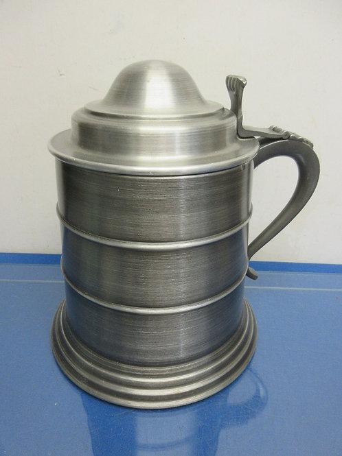 Vintage Seymour Mann Imports pewtertone italy tankard ice bucket