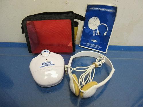 Graco Sounds, prenatal heart listener with headphone