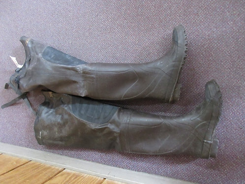 Flo Lite steel shank insulated wader boots, size 8