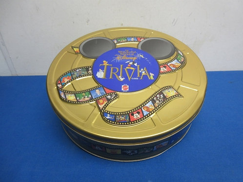 Wonderful world of disney trivia game in collectable tin, ages 6-adult