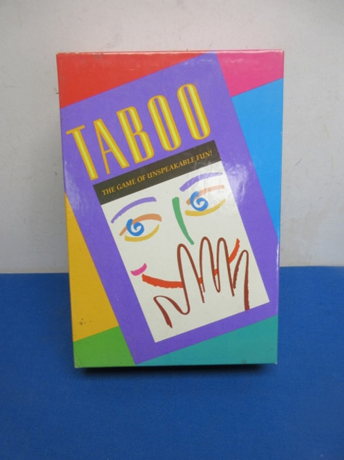 Taboo - game of uspeakable fun