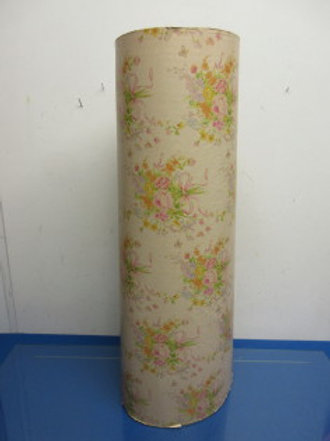 """Large roll of floral wrapping paper 24""""wide x 833ft long, New"""