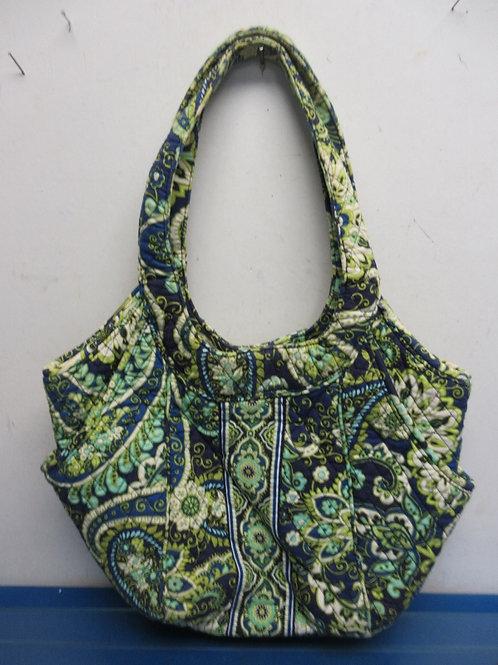 Vera Bradley blue and green shoulder bag