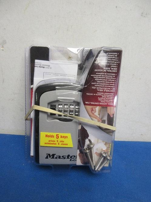 Master lock box, new in pkg