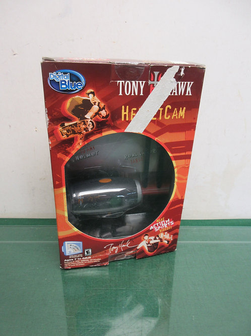 Tony Hawk digital blue helmet cam, ages 7 to adult, Never used, in box