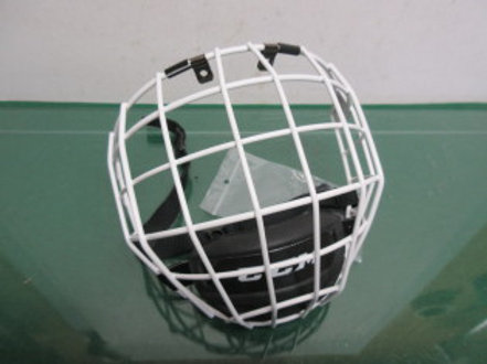 Hockey HECC certified face mask, adult size small, new never used