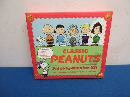Classic Peanuts Paint-by-Number Kit - new sealed