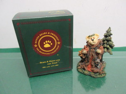 Boyds bears and friends statue from the bearstone collection - in box