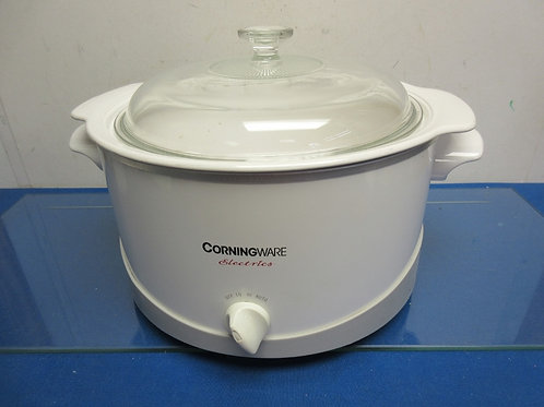 Corningware electrics 6qt slow cooker w/versatile corningware insert - small chi