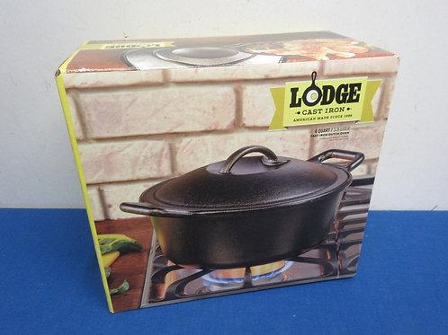 Lodge Cast Iron american made 4qt cast iron dutch oven - new in box
