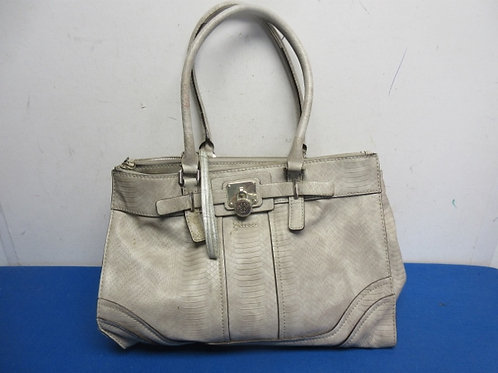 Large Guess beige repitile skin purse many compartments
