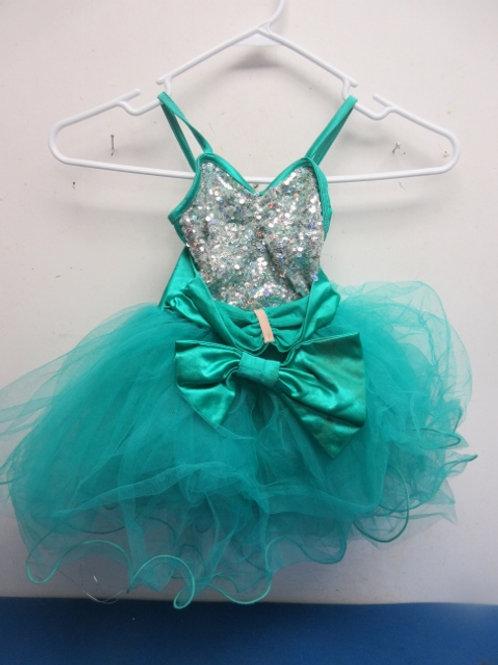 Teal childs costume/ Ballerinia tu tu- size small