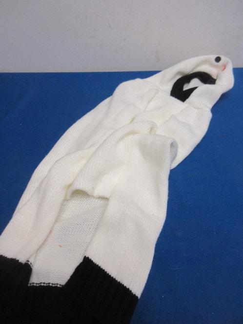 White medium size dog sweater