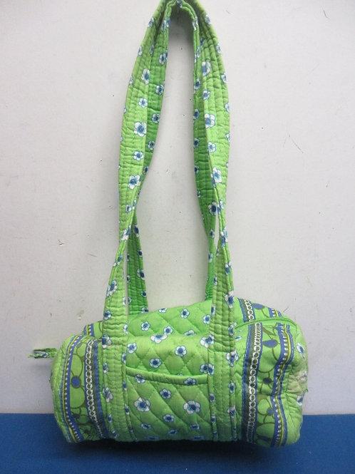 Vera Bradley lime and blue cloth purse