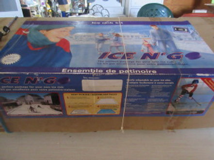 Ice N Go, package for backyard ice rink, 19ft x 33ft