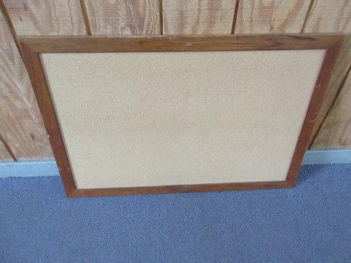 "Large wood framed cork board 24x36"""