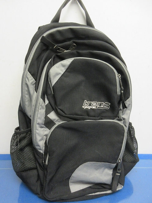 Trans by Jansport black and gray back pack