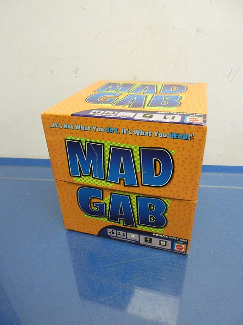 Mad Gab- It's not what your say, it's what you hear! Game-ages10 & up