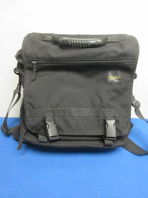 Eddie Bauer black computer backpack