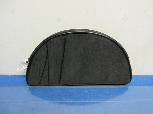 Small black cloth make up bag, like new