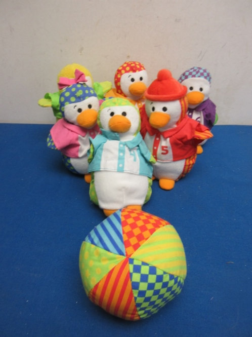 Soft Duck bowling game