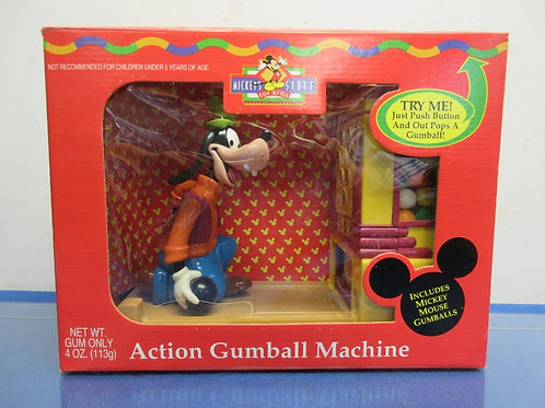 Mickey's Stuff for kids-action gumball machine-goofy-in box