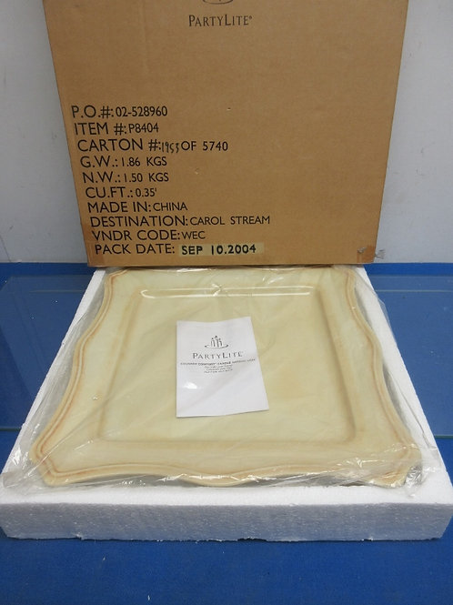 Partylite Country Comfort candle garden tray, new in box